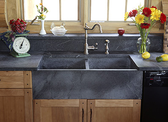 Soapstone Farmhouse Sinks : Kitchen remodeling how to update design