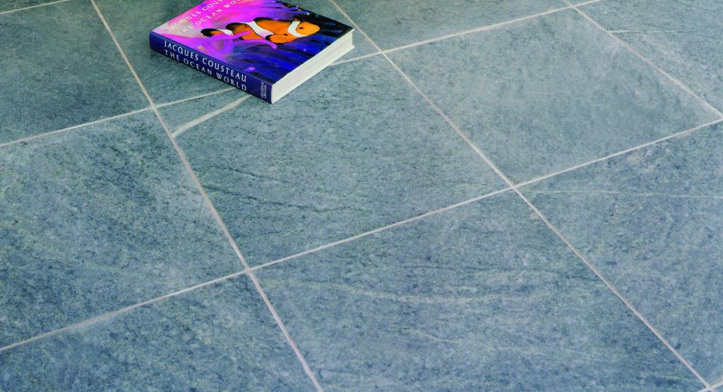 Stainless steel floor tiles