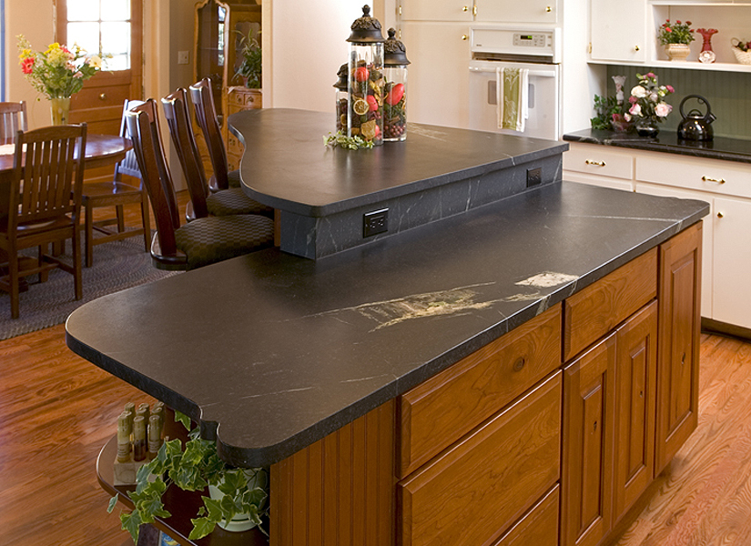 Kitchen Cart With Granite Countertop
